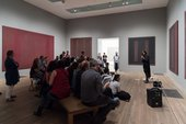 Talk by Bronwyn Ormsby and Rachel Barker, Rothko's Seagram Murals Room, Tate Modern, 14 June 2017