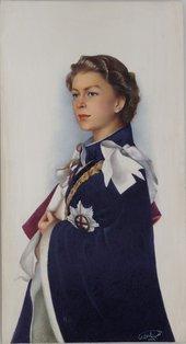Nasrat Allah Shiraz Queen Elizabeth II