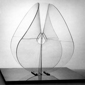 Naum Gabo Spheric Theme: Translucent Variation (c.1937, this version executed 1951 as a replacement of original of 1938–9)