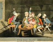Richard Newton One Too Many! 10 November 1792