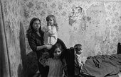Nick Hedges Mother and children, Balsall Heath 1969