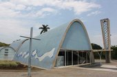 Oscar Niemeyer's Chapel of St Francis of Assisi Roof