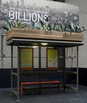 Nils Norman Bus shelter 2015 2007
