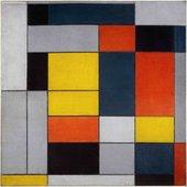 Piet Mondrian, No. VI / Composition No.II 1920