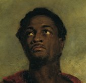 John Simpson Head of a Negro (detail) c.1827