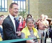 Tate Modern community garden opening