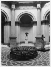 Tate Britain Rotunda with fountain, 1927