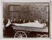 Oxley Graham  White Whale shot in the river near York about 1910