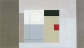 Ben Nicholson '1945 (design for an act drop)'
