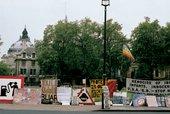 Brian Haw's protest
