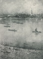 J.M. Whistler The Thames 1896