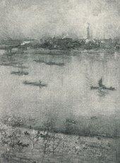 J.M. Whistler The Thames 1896
