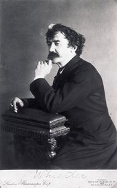 James McNeill Whistler, portrait photograph