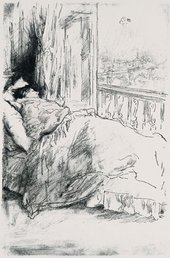 J.M. Whistler By The Balcony