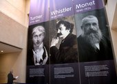 Turner Whistler Monet Exhibition Banner