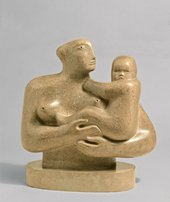 Henry Moore Mother and Child, 1930