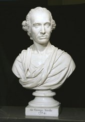 Joseph Nollekens Portrait Bust of Sir George Savile 1784