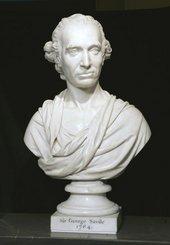 Joseph Nollekens Portrait Bust of Sir George Savile 1784