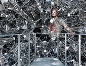 Olafur Eliasson at the Danish Pavilion, 50th Venice Biennale 2003