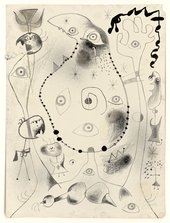 One of 50 lithographs from Joan Miró's 'Barcelona Series' (1944) © Successió Miró/ADAGP, Paris and DACS, London 2011