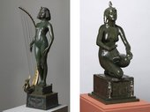 Edward Onslow Ford's The Singer exhibited 1889 and Applause 1893 Tate research project