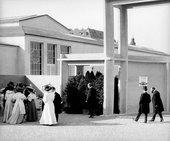 The opening of the Kunstschau 1908