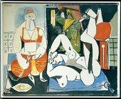 Pablo Picasso Les Femmes d'Alger Version H 24 January 1955