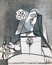 Pablo Picasso Les Menines: Infante Margarita, buste d'apres Velasquez 20 August 1957