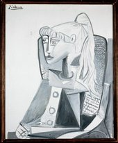 Pablo Picasso Sylvette 1 May 1954