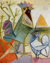 Pablo Picasso The Cockerel of the Liberation 23 November 1944