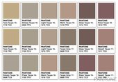 Pantone swatch Agnes Martin colour palette