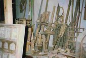Pascal Verbena's studio