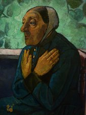 Paula Modersohn-Becker Old Peasant Woman 1905