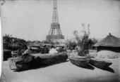 Village on the Champs de Mars1895 - Paris World Fair (Henri Rousseau: Jungles in Paris)