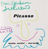 Picasso exhibition catalogue dedicated to Graham Sutherland, 1959