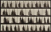 Eadweard Muybridge Walking; two models meeting, and partly turning. Plate 45 1887