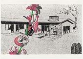 Sigmar Polke  Weekend House (Wochenendhaus) from Graphics of Capitalist Realism (Grafik des Kapitalistischen Realismus) 1967