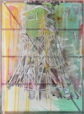 Sigmar Polke  Watchtower (Hochsitz) 1984