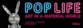 Pop Life exhibition banner