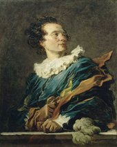 Jean-Honoré Fragonard Portrait of the Abbé Saint-Non 1769