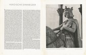 Double-page spread from the February 1943 issue of Die Kunst im Deutschen Reich