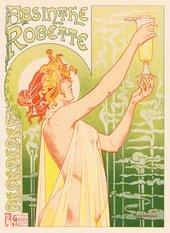 T Privat Livemont Poster for Absinthe Robette 1896