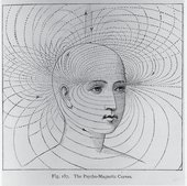 The Psycho Magnetic Curves from Edwin Babbits Principles of Light and Color