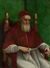 Raphael Portrait of Pope Julius II 1511