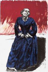 Paula Rego Come to Me 2001-2002 coloured lithograph 88.5 x 59 cm