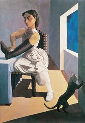 Paula Rego The Policeman's Daughter 1987