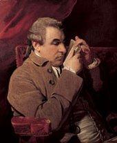 Joshua Reynolds Guiseppe Baretti 1773