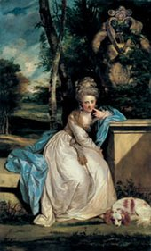Joshua Reynolds The Hon Miss Monckton about 1777-8