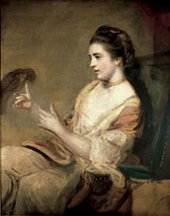 Joshua Reynolds Kitty Fisher about 1763-4