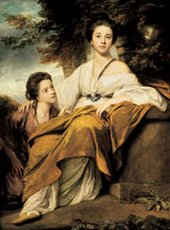 Joshua Reynolds The Ladies Elizabeth and Henrietta Montagu 1763